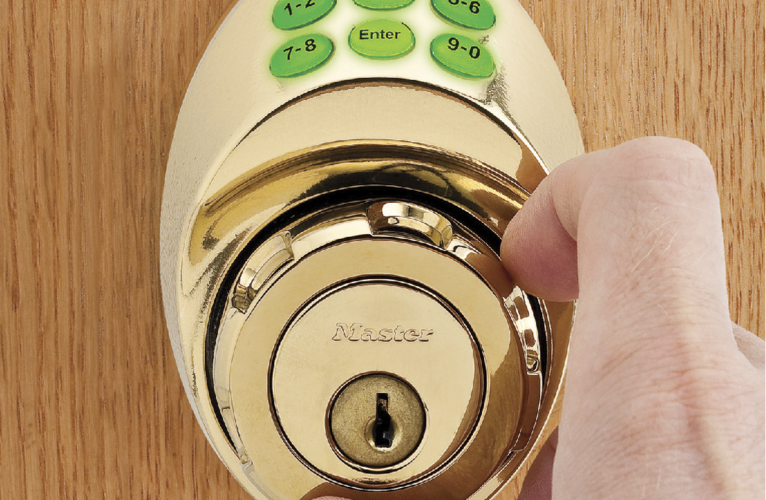 Dial Turn master residential deadbolt
